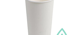 Hot Cups – Compostable White – 20oz