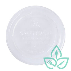 Container lids compostable plastic