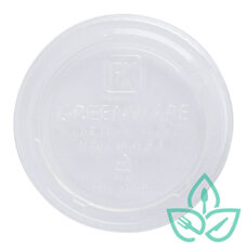 Clear Portion Cup Lid – 4oz