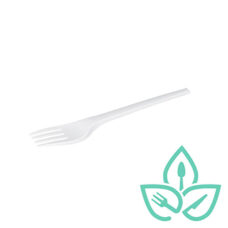 6.5″ Compostable White Forks