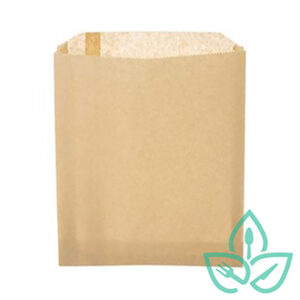 Paper sandwich pastry bag, recyclable