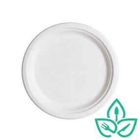 Sugarcane Plate – Round 7 inch