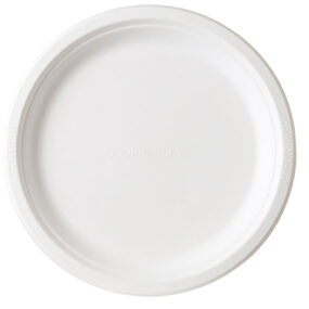 Sugarcane Plate – Round 9 inch