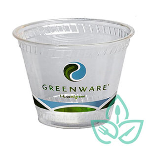 9oz compostable plastic cold cups