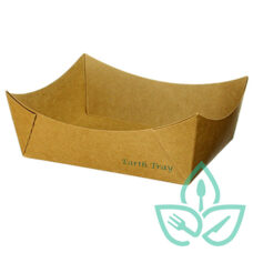#3 Kraft Paper Tray – Uncoated