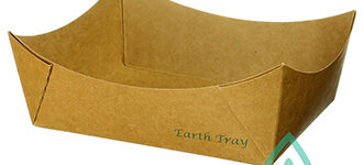#1 Kraft Paper Tray – Uncoated