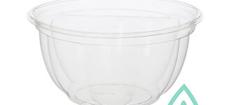 Floral Salad Bowl Base – 16 oz