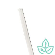 Compostable Jumbo Wrapped Straws – 7.75 inch