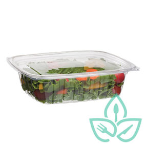 Rectangular Deli Container w/Lid – 24oz