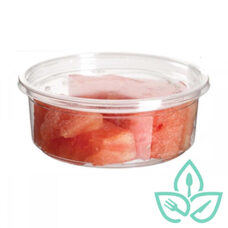 Round Deli Container without Lid – 8oz
