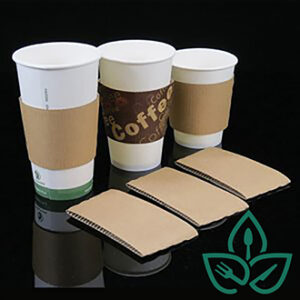 compostable hot cups and sleeves