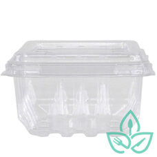 Clear Vented Berry / Fruit Container – Pint