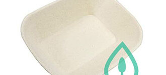 Natural Pulp Fibre Tray #300