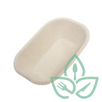 Pulp compostable savaday tray product