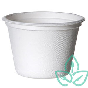sugarcane portion cups white