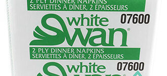 Dinner Napkin – White Recycled