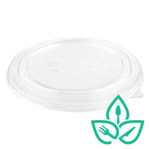 Clear Lid for Kraft Paper Salad Bowl